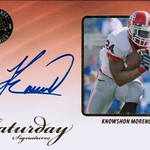 2009 Press Pass Legends Saturday Signatures Knowshon Moreno