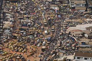 Aerial view of Monrovia | by United Nations Photo