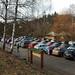 Zaplněné parkoviště , foto: Michal Roba