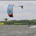 Nafukovací kite, foto: www.kiteboarding.cz