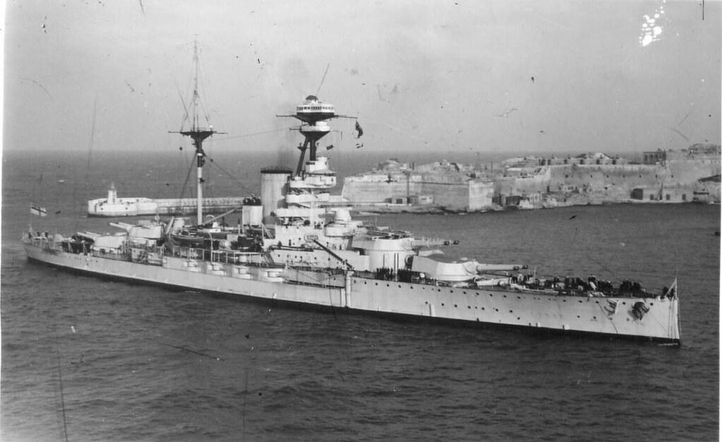 HMS Resolution in Malta, flickr