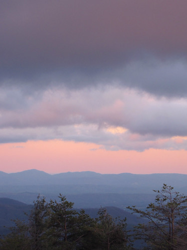 sunset evening northcarolina blueridgeparkway westernnorthcarolina southernappalachians ccbyncsa canonpowershotsx10is thelumpoverlook