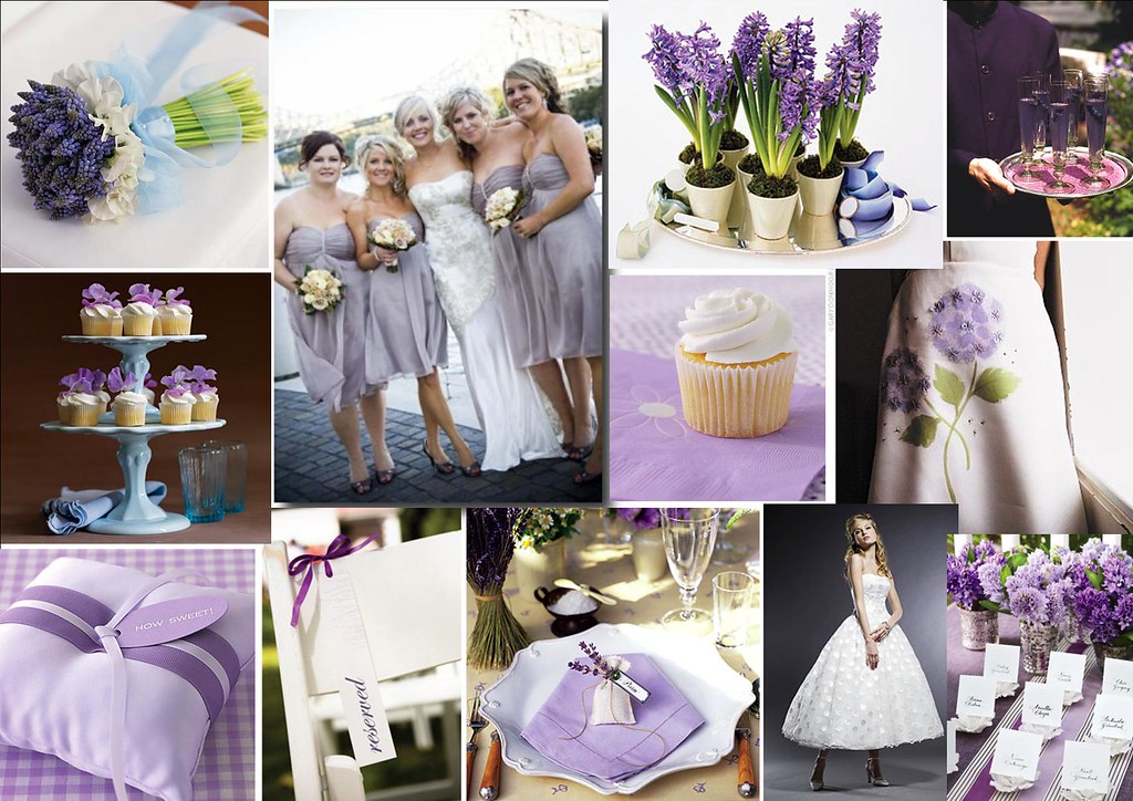 Lovely Lavender Wedding Theme For More Stylish Creative