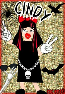 CINDY (name) gothic mc9grafix 020 | This custom made name wi… | Flickr
