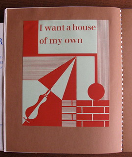 """I want a house of my own"" - building society brochure, designed by Ashley Havinden - from Typography, 1937"