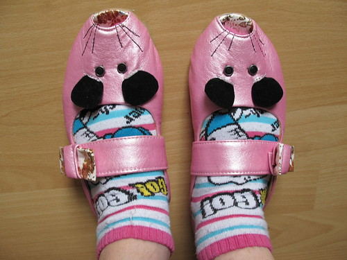 Mousey shoes