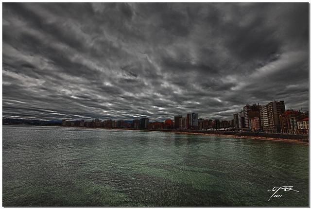 Gijón - Playa San Lorenzo