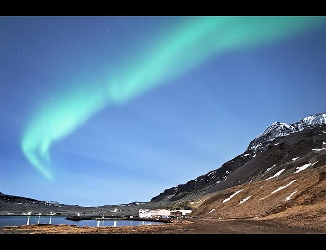 Aurora Borealis - Nordurfjordur - Iceland