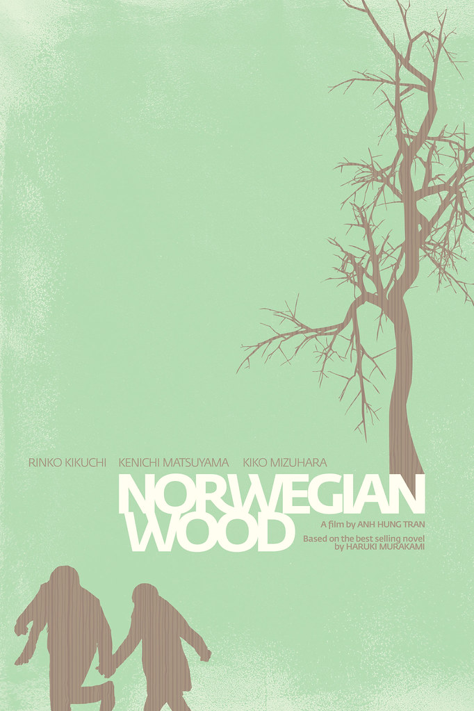Norwegian Wood poster | Entry for a poster design competitio… | Flickr