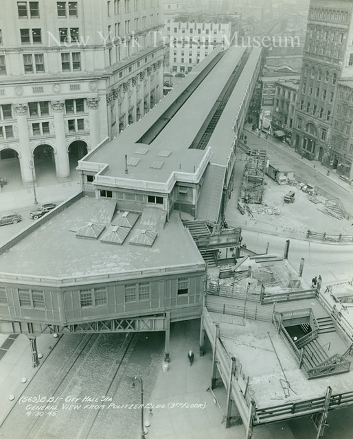 City Hall Station of the 2nd and 3rd Avenue Elevated Lines