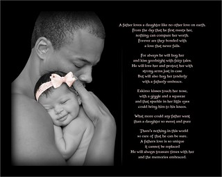 8x10 father daughter poem | by Give a little tlc