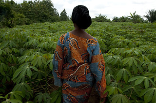 Felicienne is part of a women's group that produces cassava flour | by World Bank Photo Collection
