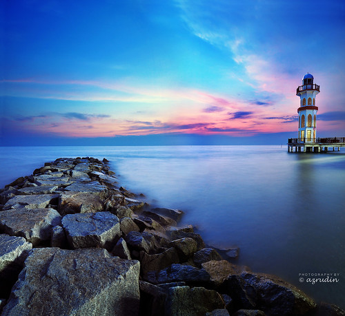 blue light sunset sky panorama cloud water architecture lowlight nikon slow tokina1224 nightshots scapes verticalpanorama longexposures d90 azrudin