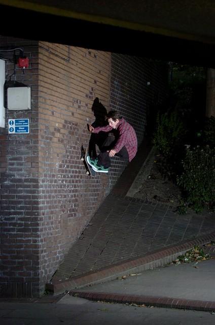 Tom Shimmin, wallride