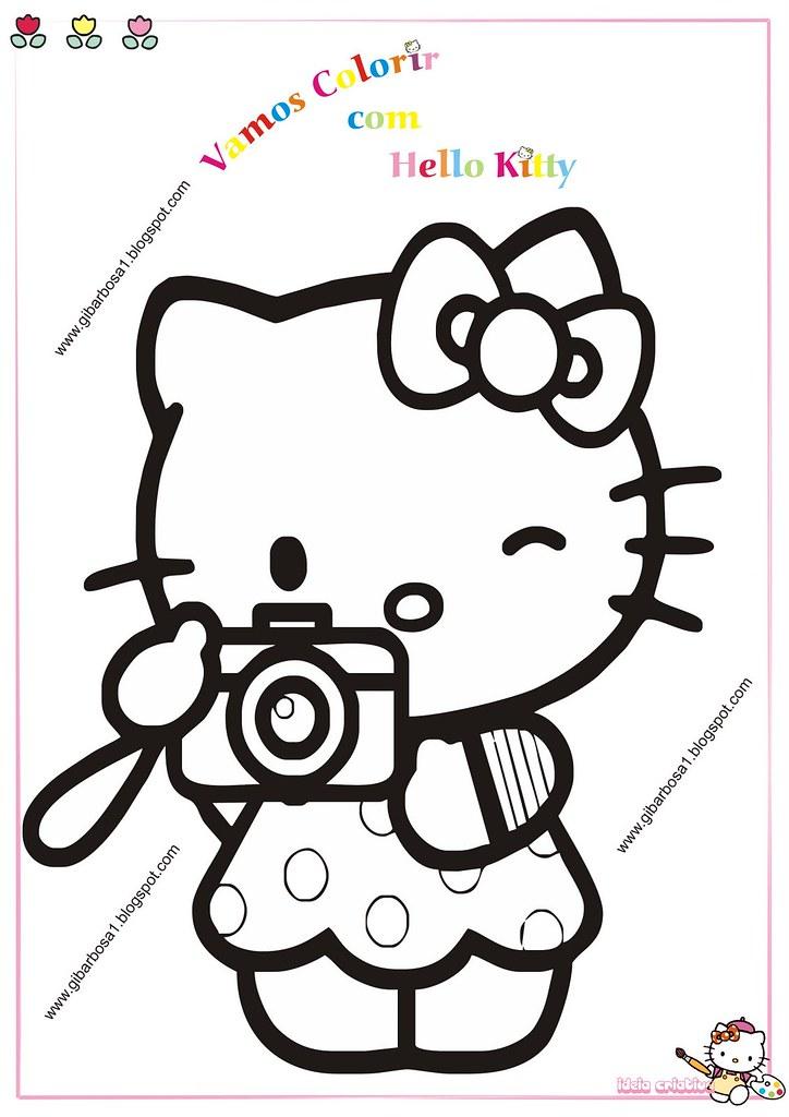Desenhos Para Colorir Hello Kitty Mariadelourdesribeirobarbosa