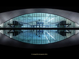 Shanghai's new natatorium in Pudong