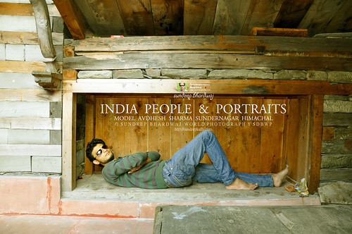 INDIA PEOPLE & PORTRAITS MODEL AVDHESH SHARMA SUNDERNAGAR HIMACHAL 2010102012501500430 AWFJ | by SDB Fine Art Travel of 2 Decades to 555+ Places Ph