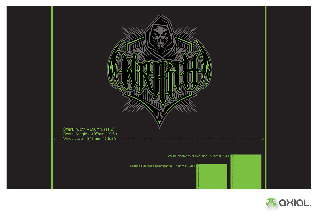 Axial Wraith Spec Chart | Axial Inc  | Flickr