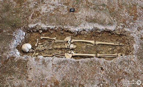 Fishbourne Roman Palace - Grave | by Hexagoneye Photography