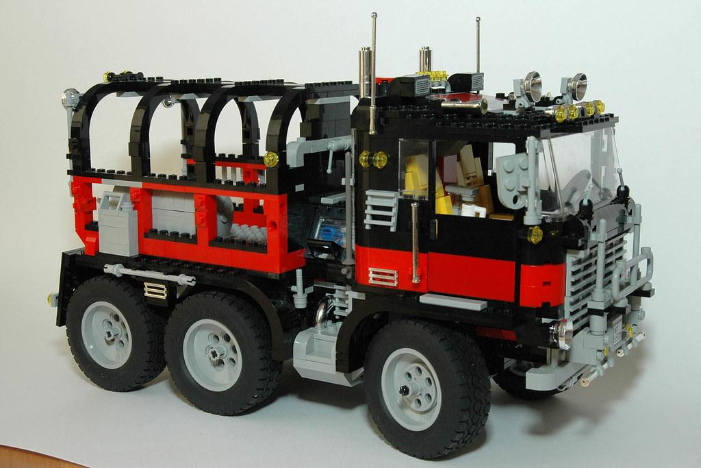 Giant Truck Black Cat Lego Model Team Set 5571 1743 Elem Flickr