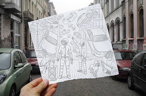 Pencil Vs Camera - 47   by Ben Heine