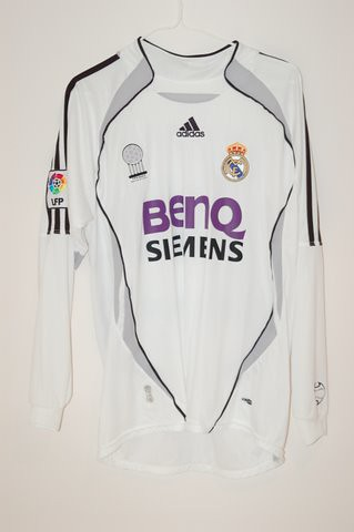 detailing 0be59 8faa8 2006/2007 Real Madrid David Beckham Home Jersey | Features ...