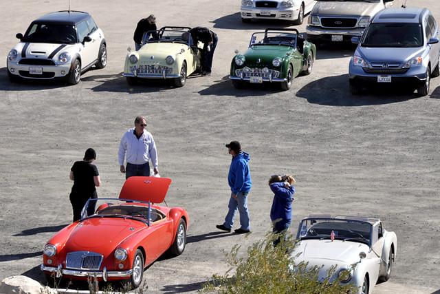 cars at Eagle Castle