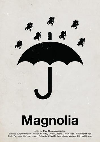 'Magnolia' pictogram movie poster