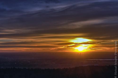 usa sun foothills clouds sunrise landscape michael nikon colorado view denver micha lakewood plains morrison schaefer d300 redrockpark ptf