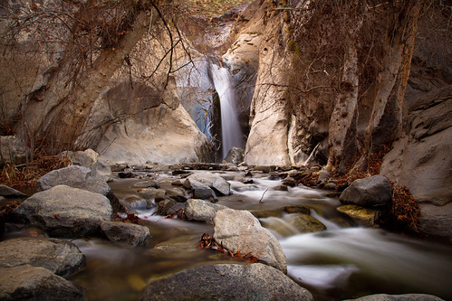 water rock landscape waterfall stream desert indian palmsprings scenic canyon oasis