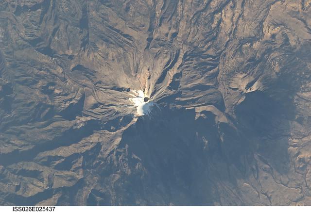 Pico de Orizaba, Mexico (NASA, International Space Station, 02/10/11)