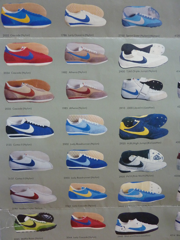 Nike 1980 Shoe Show (poster detail) | The complete 1980 Nike
