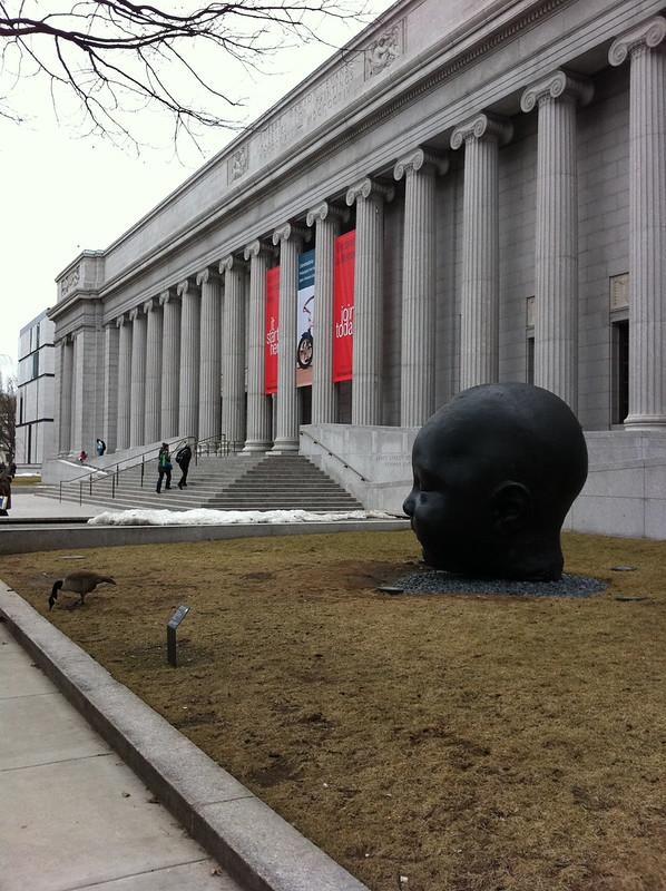 Museum of Fine Arts, Boston - Fenway Entrance