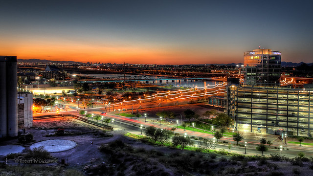 Tempe AZ Sunset in HDR