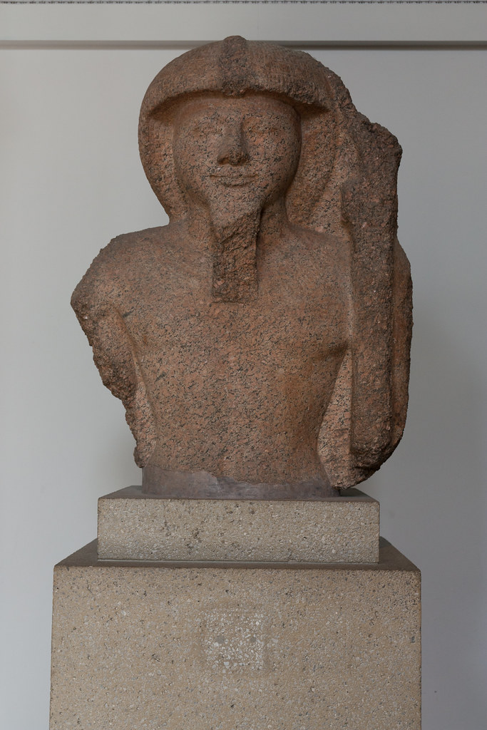 Pharaoh Rameses II (alt. Ramesses II, Rameses the Great) of Egypt.  Circa 1301-1235 B.C.  The British Museum allows photo shooting providing there is no financial gain.  Please respect their policy