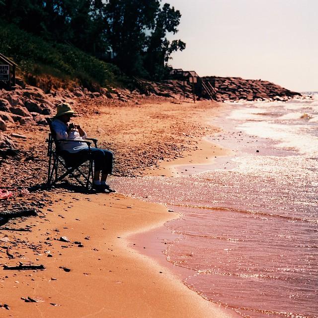 Lake Michigan on film 2010