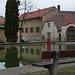 Tetín – rybník na návsi, foto: Petr Nejedlý