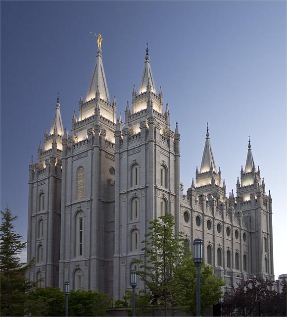 Salt Lake City, LDS Temple