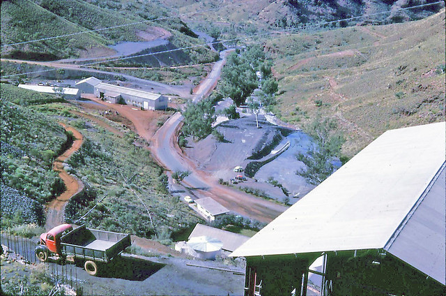 Wittenoom Mine from the Crushing Plant - 1962