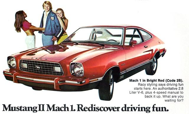 1975 Ford Mustang Mach I 3 Door