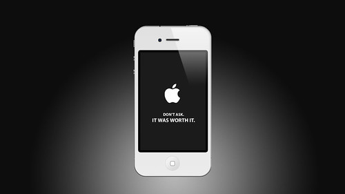 White iPhone, yeah... | by robinandeer