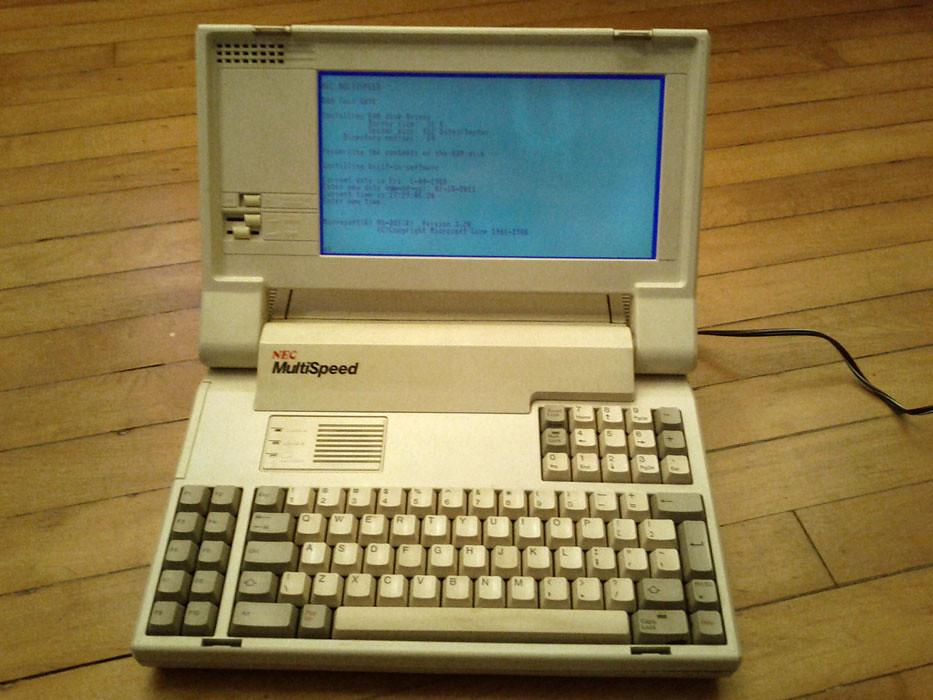 NEC Multispeed EL Computer