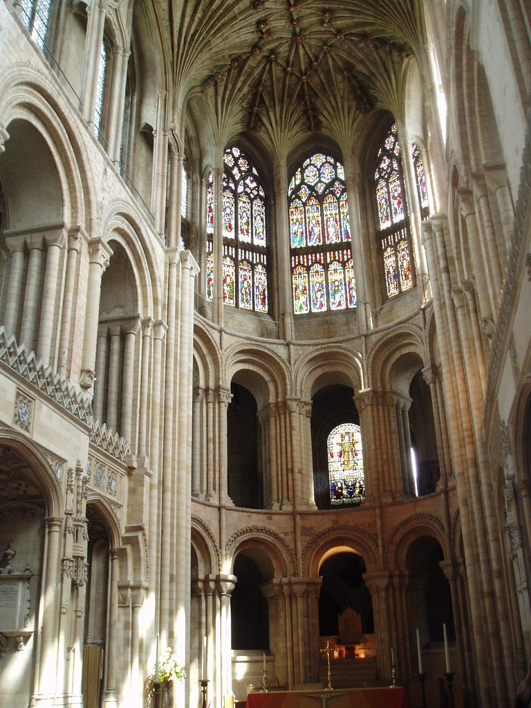 Apse, Norwich Cathedral | Norwich Cathedral is one of ...