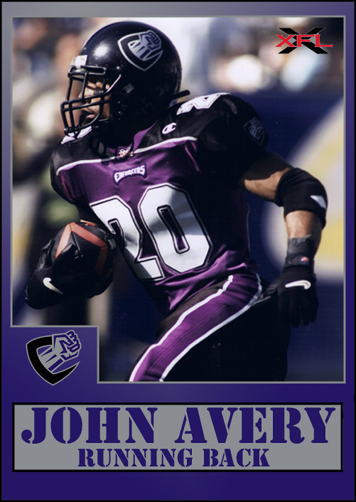 Image result for chicago enforcers xfl john avery