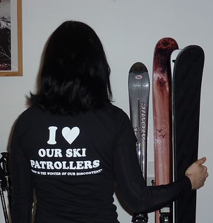 Support ski patrollers! | by kcxd