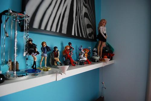 Bedroom Shelf   by Plastic_Fantastic