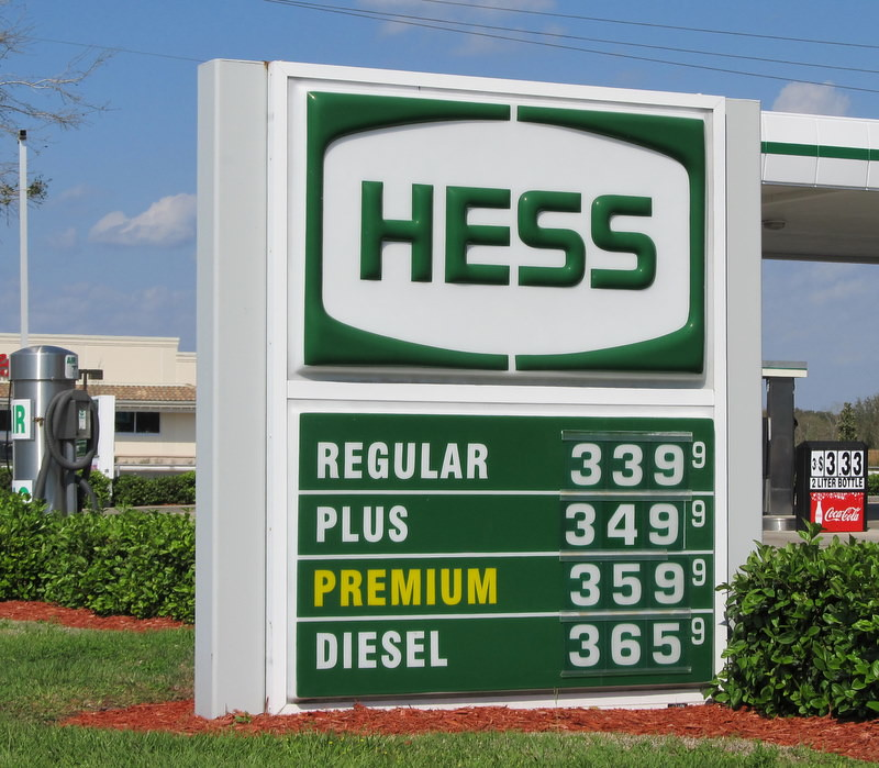Gas Prices In Florida >> Hess Gas Prices On Highway 64 In Bradenton Florida Flickr