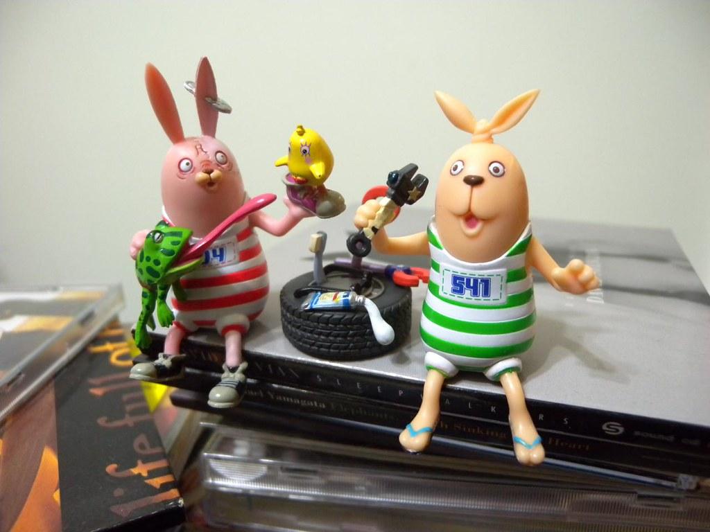 監獄兔場景組 ウサビッチ Usavich Usavich Desk Top Figurine