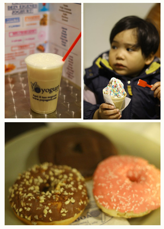 donut, Frozen Yogurt