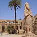 Karnak – nádvoří velkého Amonova chrámu, foto: Luděk Wellner